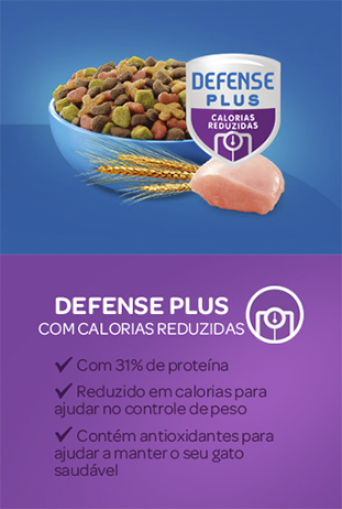 Cat Chow® defense calorias reducidas