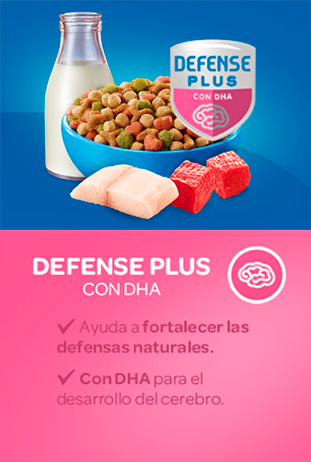 Cat Chow® 	DEFENSE PLUS CON DHA