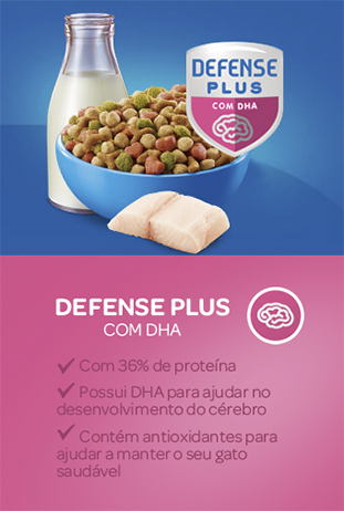Cat Chow® Defense Plus