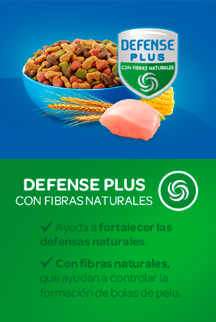defense plus con fibras natirales