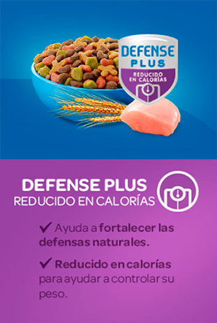 defense plus reducido en calorias
