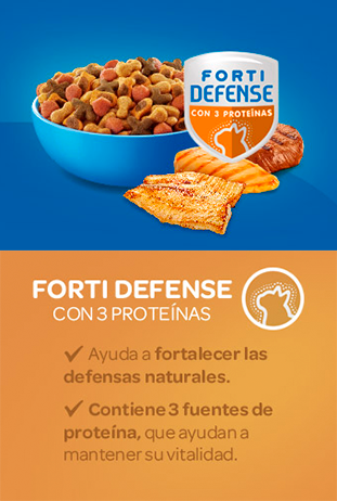 Cat Chow Forti Defense 3 Pro