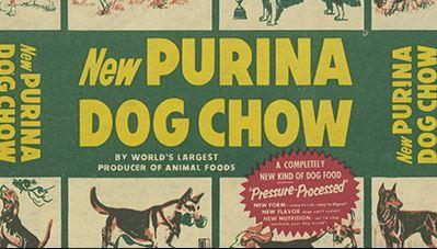 1956 - PURINA® DOG CHOW®