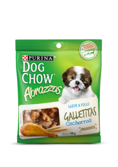 Purina® Dog Chow® Abrazzos Galletitas Cachorro Pollo