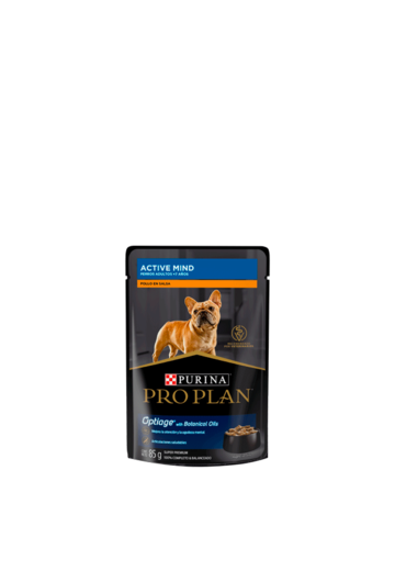 Pro Plan Perros Active Mind Pollo en Salsa