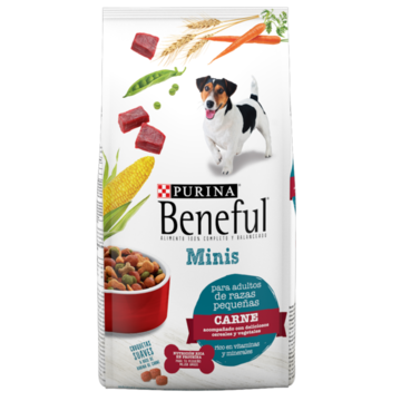 Beneful Minis con carne