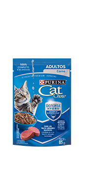 Cat Chow® Adultos defense hydro