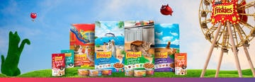 purina friskies banner home products