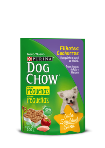 Purina Dog Chow® cachorros Pollo y manzana