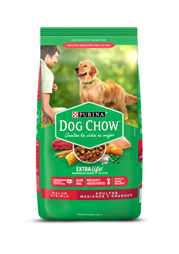 Dog Chow® Adultos Salud visible Medianos y Grandes