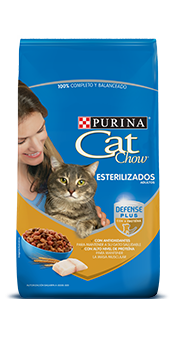 cat chow adultos esterilizados