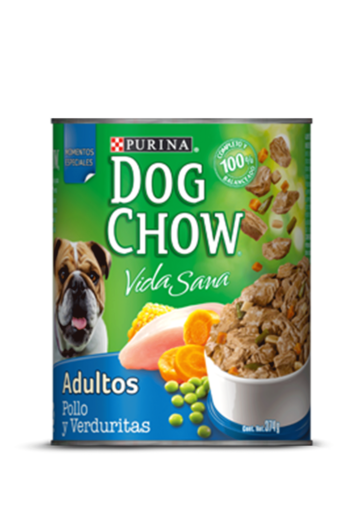 Purina Dog Chow® pollo y verduritas