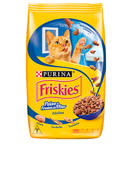 Friskies®Peixe e frutas do mar Adultos