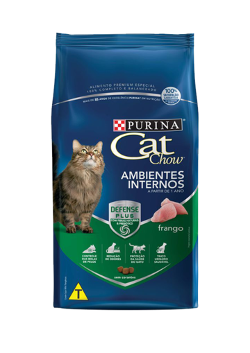 Purina Cat Chow® Ambientes internos