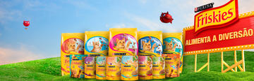 Purina Friskies® banner productos