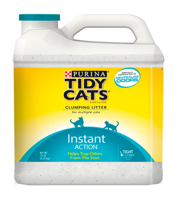 Purina Tidy Cats® instant action