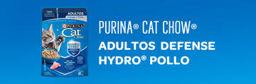 Purina® Cat Chow® Adultos Pollo Defense Hydro®