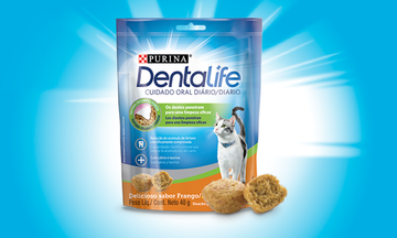 Purina® Dentalife® Gato Frango Pollo