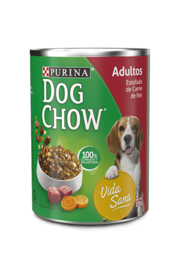 Purina® Dog Chow® Adultos Estofado de Carne de Res