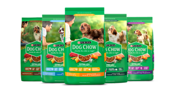 Purina® Dog Chow® Bodegón productos