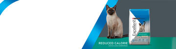 Purina® Excellent® Gatos Reduced Calorie