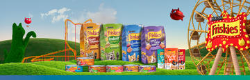 Purina® Friskies® Banner Productos