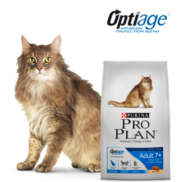 Purina® Pro Plan® Gatos Adult 7+ Perú