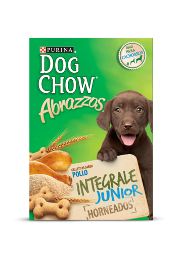 Dog Chow® abrazzos pollo integral junior