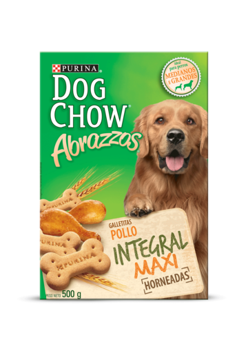 Dog Chow® abrazzos pollo integral maxi