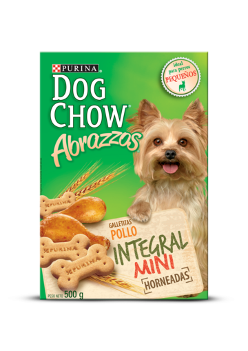 Dog Chow® abrazzos pollo integral mini