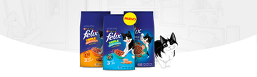 Felix® Alimento Seco  try triple adulto