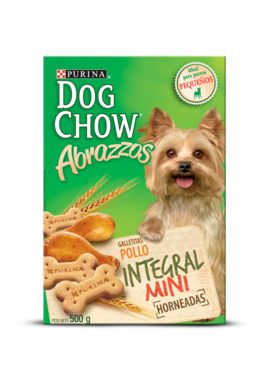 PURINA DOG CHOW ABRAZZOS POLLO INTEGRAL MINI