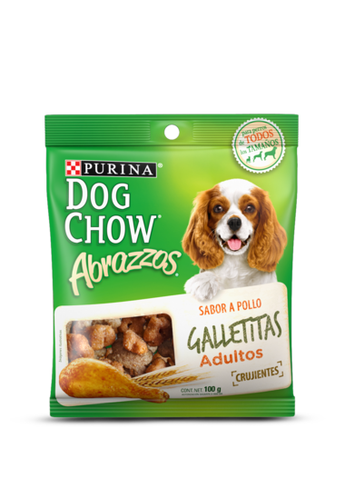 Purina® Dog Chow® Abrazzos® Galletitas Adulto Pollo