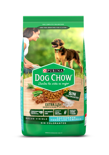 Purina Dog Chow Cachorros sin colorantes img
