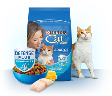 Cat Chow® adultos pescado