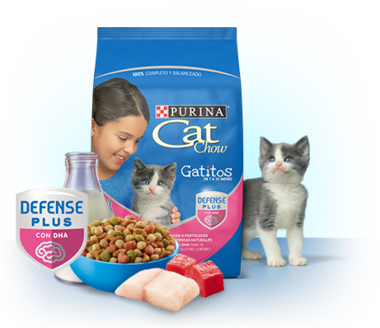 Cat Chow® Gatitos hasta 12 meses