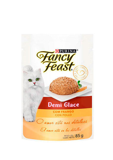 Fancy Feast Demi Glace Frango