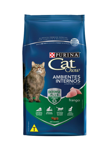 Cat Chow Ambientes Internos