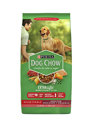 Purina® Dog Chow® Adultos Medianos y Grandes Chile