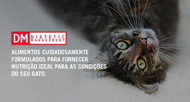 Purina® Pro Plan® DM Dietetic Management.