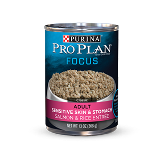 Purina® Pro Plan® Focus Adult Sensitive skin & Stomach Salmon & Rice