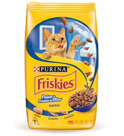 Friskies peixe e frutos do mar